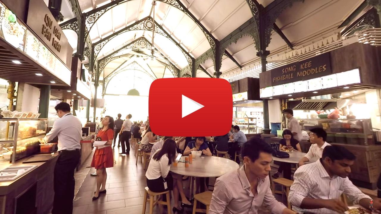360 video: Inside Lau Pa Sat, Singapore