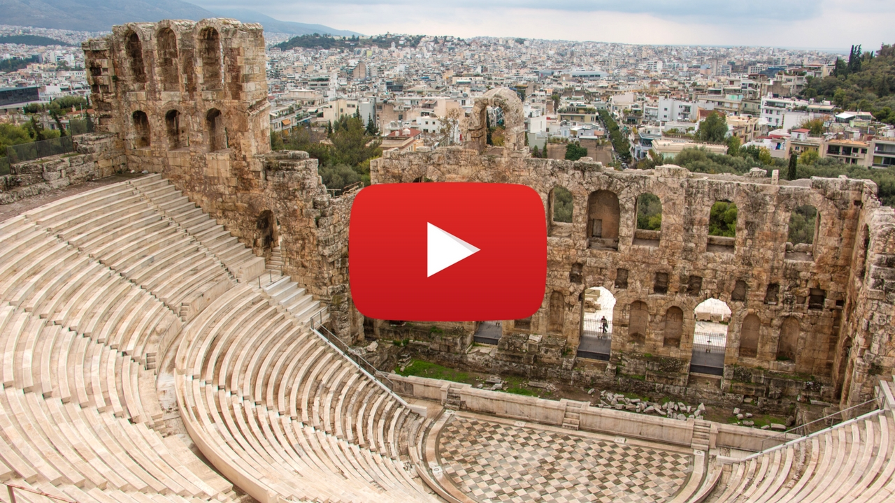 360 video: Herodes Theatre, Athens, Greece