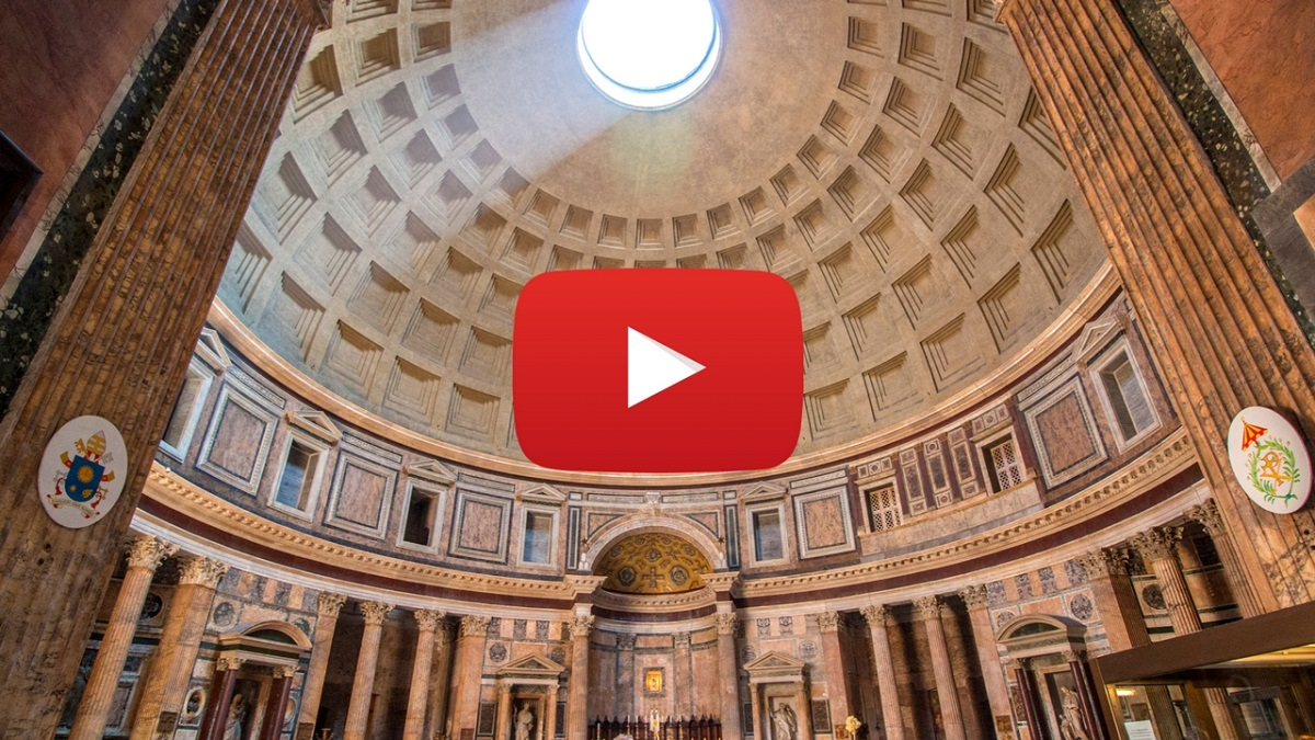360 video: Inside Pantheon, Rome, Italy